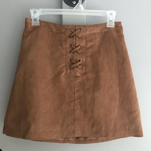 BCBGeneration Dresses & Skirts - 🥀SOLD🥀 Suede Skirt